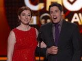 Alyson Hannigan et Jason Biggs présente l'awards du meilleur acteur de comédie
