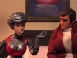 Les marionnettes dont Alyson et Seth font les voix