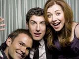 Seann, Jason et Alyson dans la cabine photo